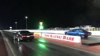 Download Chris going down the track in his Thunderbird Turbo Coupe on 12-1-18 Video