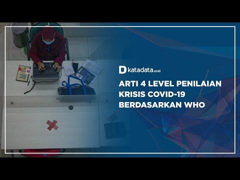 Arti 4 Level Penilaian Krisis Covid-19 Berdasarkan WHO | Katadata Indonesia