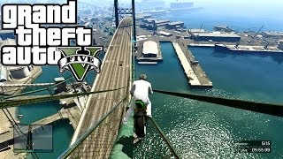 Download GTA 5 ONLINE Moto SKILL TEST ( BRIDGE ) ( 5000 RP & $12000 ) ( Fun Custom Race ) GTA V MULTIPLAYER Video