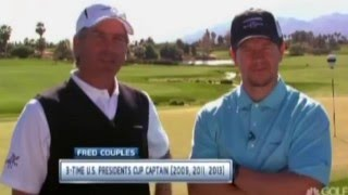 Download Fred Couples and Mark Wahlberg (Playing Lessons) Video