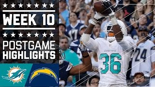 Download Dolphins vs. Chargers (Week 10) | Game Highlights | NFL Video