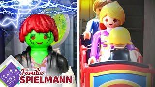 Download Die BESTE Geisterbahn der Welt!! Halloween Spezial - Playmobil Familie Spielmann Video