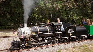 Download The Beautiful Billy Jones Wildcat Railroad at Vasona Park - 18″ gauge Live Steam in Los Gatos - 60p Video
