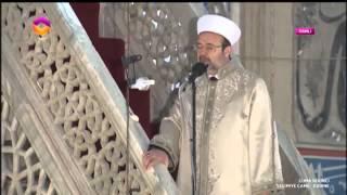 Download Diyanet İşleri Başkanı Görmez, Edirne Selimiye Camii'nde halka hutbe irad etti… Video