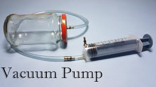 Download How to Make Vacuum Pump and Vacuum Chamber Video