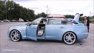 Download WhipAddict: Jaguar XJL on Forgiato GTR 24s, Electronics, Bottles and Custom Truck Video
