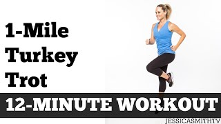 Download 1-Mile Turkey Trot | Fast Paced Walking Workout Full Length Low Impact Home Exercise Video Video