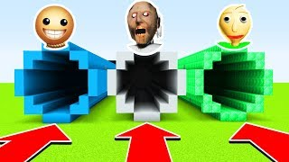 Download DO NOT CHOOSE THE WRONG TUNNEL(BALDI, GRANNY, KICK THE BUDDY) (Ps3/Xbox360/PS4/XboxOne/PE/MCPE) Video