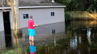 Download WORST FLOOD EVER?!? FISH IN MY BACKYARD Video