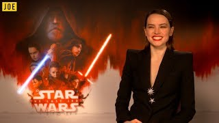 Download Daisy Ridley reveals who she wants to impress the most with Star Wars: The Last Jedi Video
