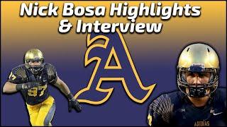 Download Nick Bosa - St. Thomas Aquinas DE - Highlights/Interviews - Sports Stars of Tomorrow Video
