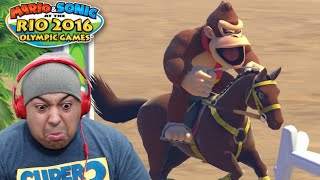 Download DONKEY B#TCH ASS ON A HORSE!? [MARIO & SONIC RIO 2016 OLYMPIC GAMES] Video