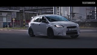 Download Ken Block tests the new Ford Focus RS Video