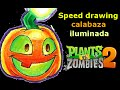Download Calabaza iluminada (Plants vs zombies 2) speed drawing | Víctor González Video
