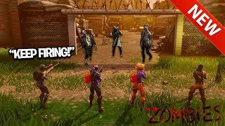 Download FIRST EVER Fortnite: BLACK OPS ZOMBIES NEW GAMEMODE! ZOMIBES IN FORTNITE?! (Custom) Video
