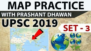 Download Map practice for UPSC 2019 - Set 3 - Places In News - Current affairs 2018 Video