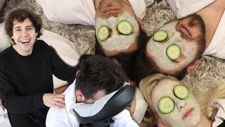 Download SURPRISING MY BEST FRIENDS WITH A SPA DAY!! Video