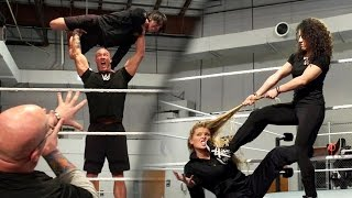 Download WWE Performance Center nails the ″Mannequin Challenge″ Video