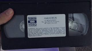 Download Opening to Amadeus 1985 VHS (1986 Reprint) Video