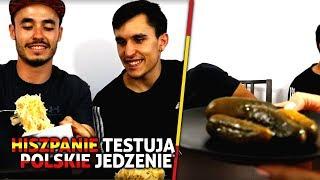 Download SPANISH PEOPLE TASTE POLISH FOOD / HISZPANIE PRÓBUJĄ POLSKIEGO JEDZENIA Video