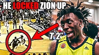 Download Meet The Player With a 7' 2″ WINGSPAN That LOCKED Up Zion Williamson (Ft Nassir Little, NBA Defense) Video