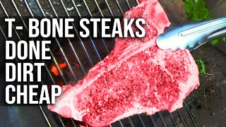 Download T-Bone Steak done dirt cheap by the BBQ Pit Boys Video