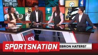 Download SportsNation crew gets into heated debate over LeBron James' greatness | SportsNation | ESPN Video