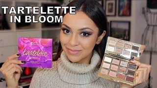 Download Tarte Tartelette In Bloom Palette First Impression and Tutorial - TrinaDuhra Video