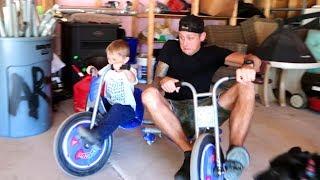 Download DAD vs KIDS!! Drifting & Camping Video