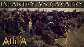 Download Total War Attila Mechanics - Infantry vs Cavalry Video