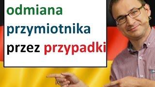 Download Odmiana przymiotnika przez przypadki - język niemiecki - gerlic.pl Video