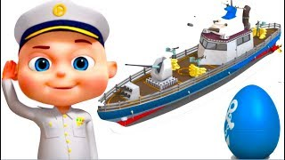 Download Ship Assembly Video | Vehicle Construction For Kids | Videogyan Fun Videos | Videos For Toddlers Video