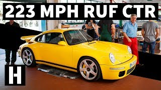 Download Smashing Rev Limiter in a 223 MPH RUF CTR! Video