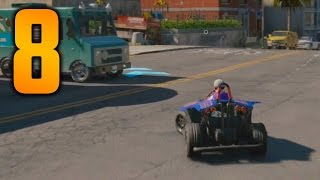 Download Watch Dogs 2 Gameplay Walkthrough - Part 8 ″GO KART RACING″ (Let's Play, Playthrough) Video
