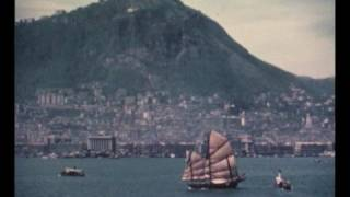 Download Entering the old Hong Kong harbour in 1960 Video