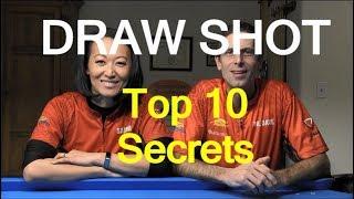 Download Top 10 Secrets of a Good Draw/Backspin/Screw-Back Shot Video