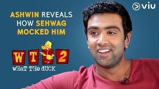 Download Ashwin Reveals How Sehwag Mocked Him | Vikram Sathaye | What The Duck Season 2 | Viu India Video