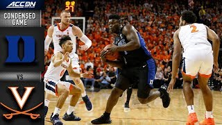 Download Duke vs. Virginia Condensed Game | 2018-19 ACC Basketball Video