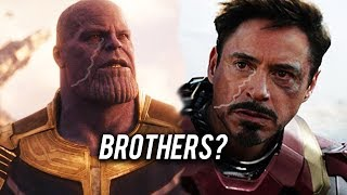 Download What Everyone Forgot About Thanos and Tony Stark's Relationship Video