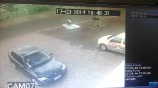 Download Proof Gaurdian Angels Exist?? Truck struck cyclist leaves mattress to cushion fall Video