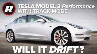 Download Testing the Tesla Model 3's new Track Mode: Will it drift? Video