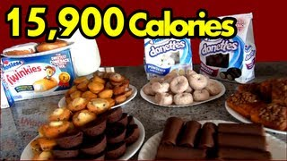 Download ″The Sweetest Food Challenge in the History of Ever″ (Hostess Snack Challenge) | Matt Stonie Video