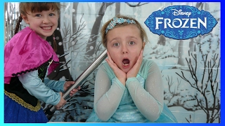 Download DISNEY FROZEN ELSA and ANNA get a MAGIC HAIR DO! The Disney Toy Collector Video