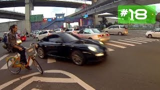 Download Taipei city Cycling Trail by night - reportage Taiwan Video