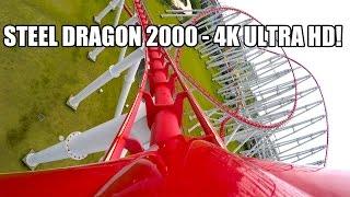 Download Steel Dragon 2000 Roller Coaster POV Awesome 4K Ultra HD Resolution Nagashima Spaland Japan Video