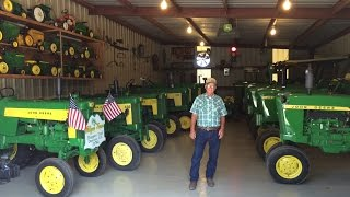 Download Georgia Man's Classic John Deere Tractor Collection Video