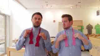 Download How to Tie the Perfect Bow Tie | Lessons from a Men's Shop Video