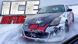 Download Pro Drifter on a FROZEN LAKE! Video
