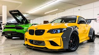 Download ALEX CHOI'S BMW M2 WIDEBODY DRIFT BUILD! *UPGRADED TURBOS 600 HP* Video