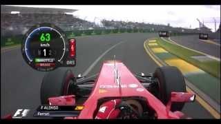Download F1 2013 - Australia Onboard Start Video